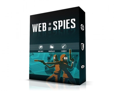 Web of Spies box