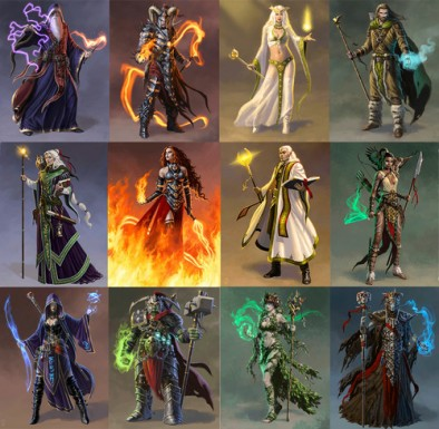 mage wars mages