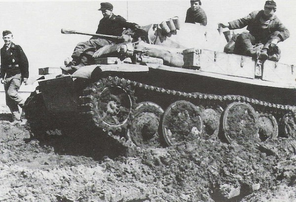 WWII Panzer II Ausf. L