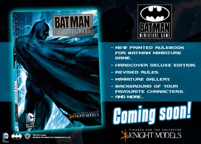 Batman Miniatures Game Rulebook