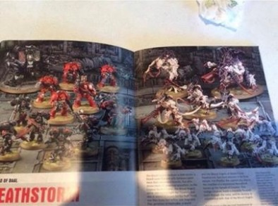 Blood Angel Vs Tyranid Preview