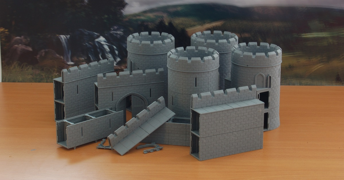 The Full Castle Kit Now Available From Tabletop Workshop