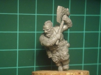 Dwarf Ranger with Great Axe