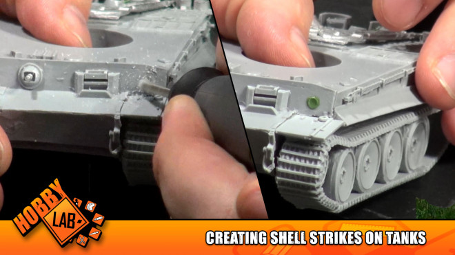 Hobby Lab: Creating Shell Strikes on Tanks
