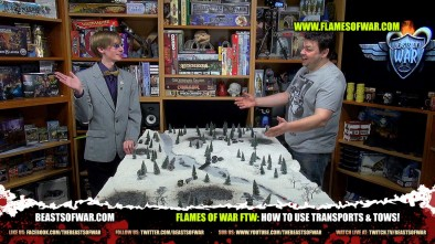Flames of War FTW: How To Use Transports & Tows!