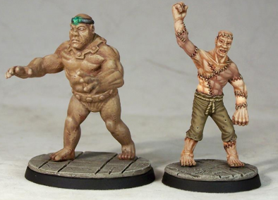 Flesh and Clay Golems