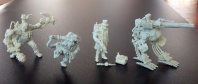 Infamy Assembled Models
