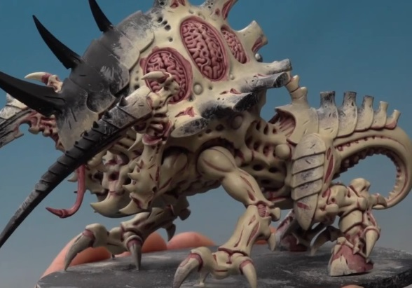 Games Workshop Painting Tutorial: How To Paint A Tyranid