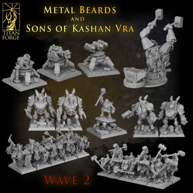 Metal Beards and Sons of Kashan Vra