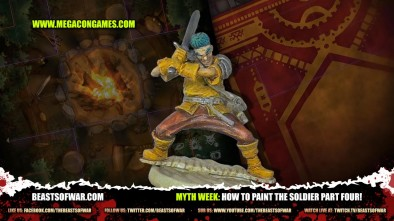 Myth Week: How To Paint The Soldier Part Four