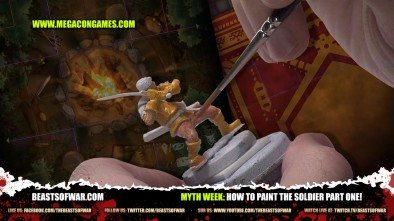 Myth Week: How To Paint The Soldier Part One!