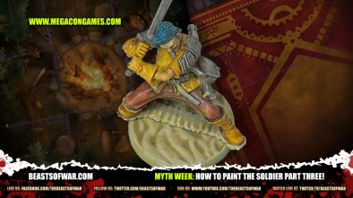 Myth Week: How To Paint The Soldier Part Three