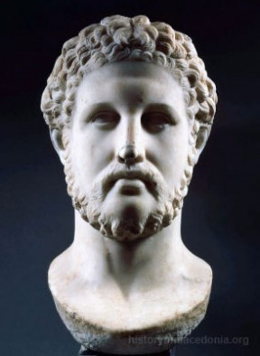 Bust of Philip