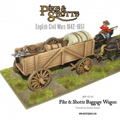 Pike and Shotte Baggage Wagon Contents