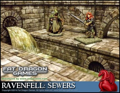 Ravenfell Sewers Terrain