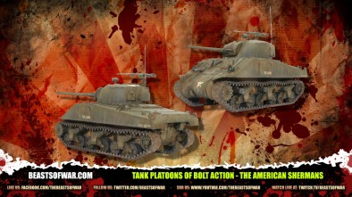 Unboxing: Tank Platoons Of Bolt Action - Part 1 The American Shermans!