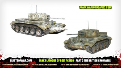 Unboxing: Tank Platoons of Bolt Action - Part 3 The British Cromwell!