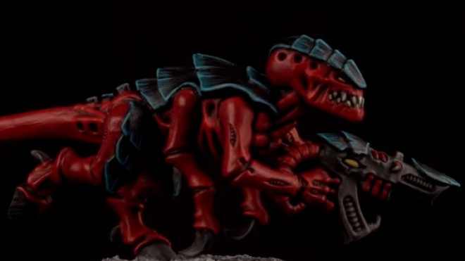 Games Workshop Painting Tutorial: How To Paint A Tyranid Termagant