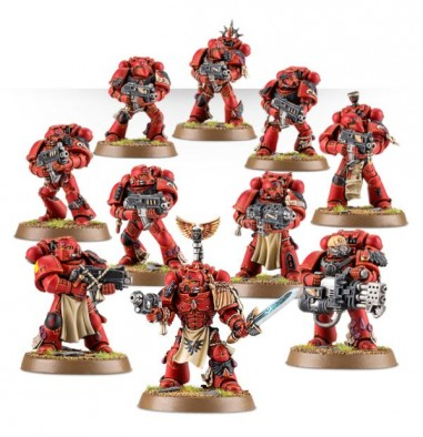 Blood Angel Tactical Squad