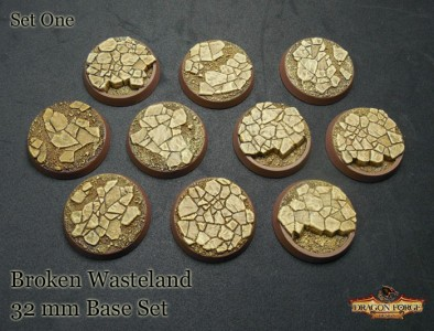 Broken Wasteland 32mm