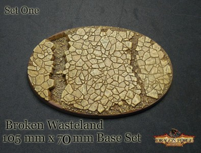 Broken Wasteland Oval