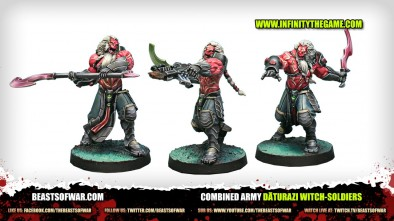 Unboxing: Infinity - Dāturazi Witch-Soldiers