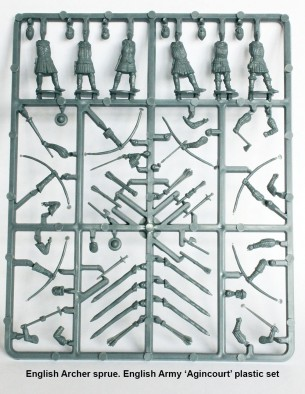 English Archer Sprue
