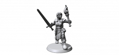 Hero Forge Female Dungeon Delver