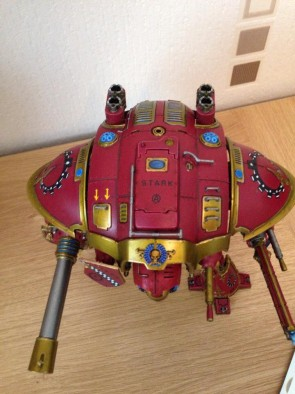 Iron Man Imperial Knight (Close-Up)