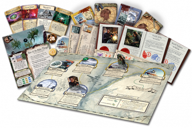 Mountains of Madness Expansion (Set Up)