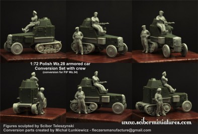 Polish Wz.28 Armoured Car Conversion Set