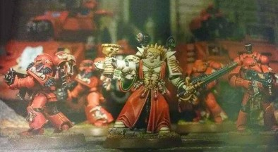 Sanguinary Priest with Tactical Squad