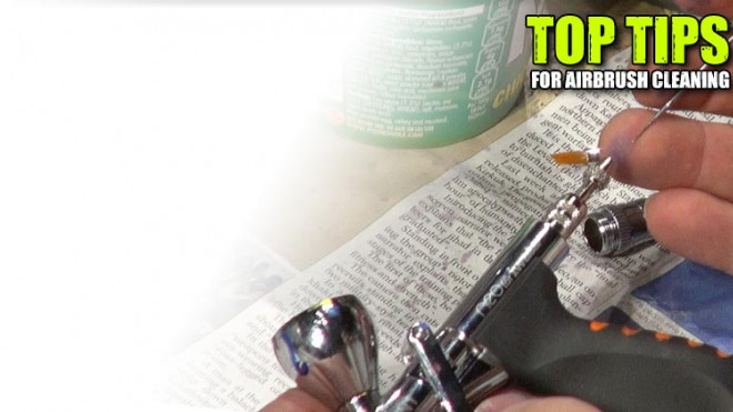 How To Clean Your Airbrush!