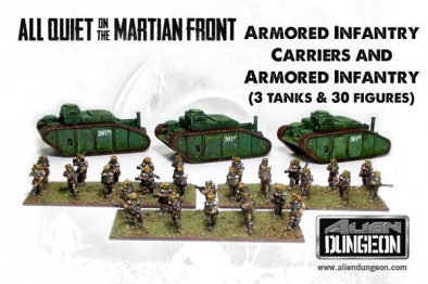 Armoured Infantry and Armoured Infantry Carriers