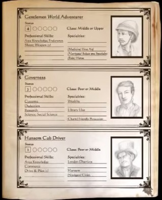 Baker Street Characters