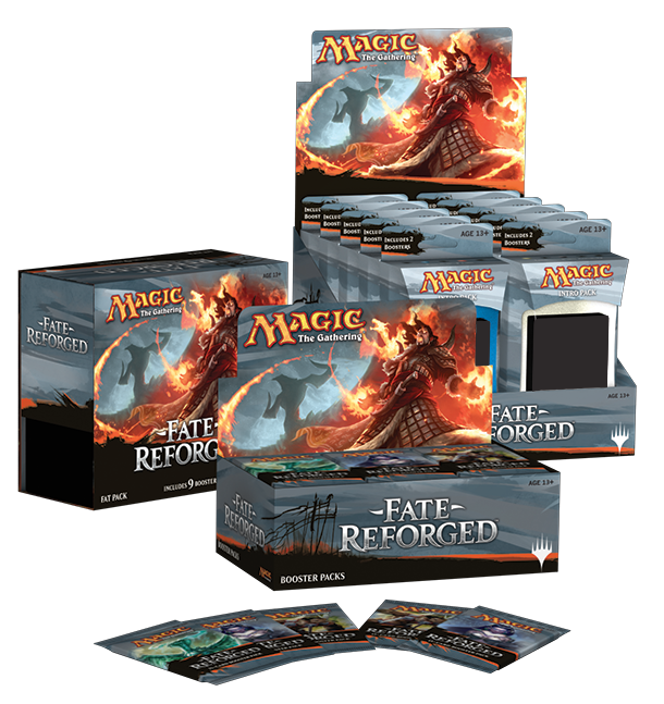 MTG Magic the Gathering Fate Reforged Fat Pack