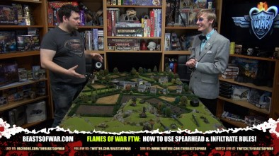 Flames of War FTW: How To Use Spearhead & Infiltrate Rules!