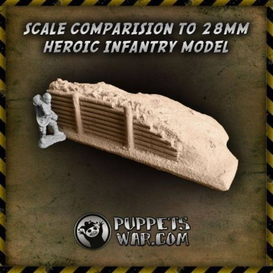 Hard Foam Trenches Scale