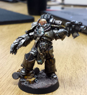Iron Warriors Marine