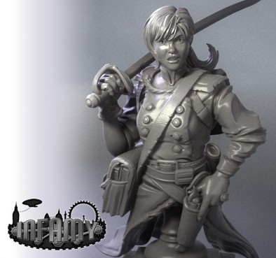 Jo March Limited Edition Bust