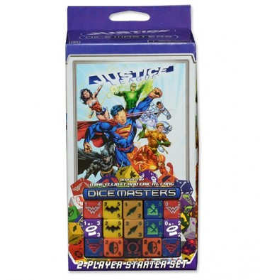 Justice League Dice Masters Starter Pack
