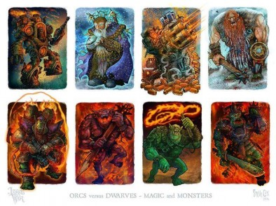Magic & Monsters Artwork