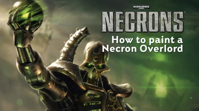 Games Workshop Painting Tutorial: How To Paint A Necron Overlord