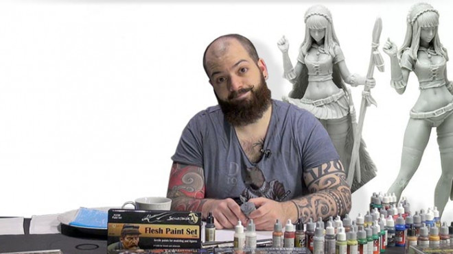 Skin Tone Tutorials: How To Paint Japanese Skin Part One!