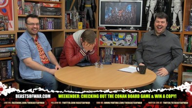 Weekender: Checking Out The Conan Board Game & Win A Copy!