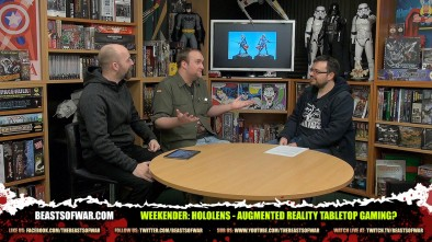 Weekender: HoloLens - Augmented Reality Tabletop Gaming?