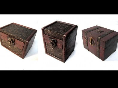 Wooden deck boxes