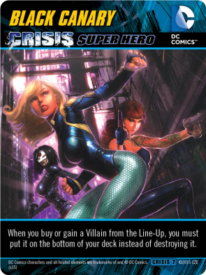 Black Canary Crisis Super Hero