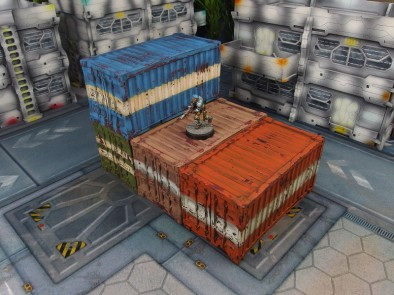 Containers (Staggered)