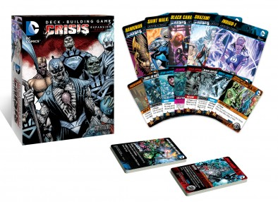 DC Deck Building Game Crisis Expansion Pack